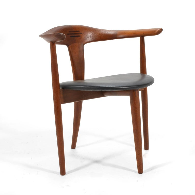 Rosewood Erik Andersen and Palle Pedersen Pair of Rare Easy Chairs For Sale