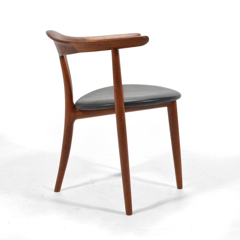 Erik Andersen and Palle Pedersen Pair of Rare Easy Chairs For Sale 1