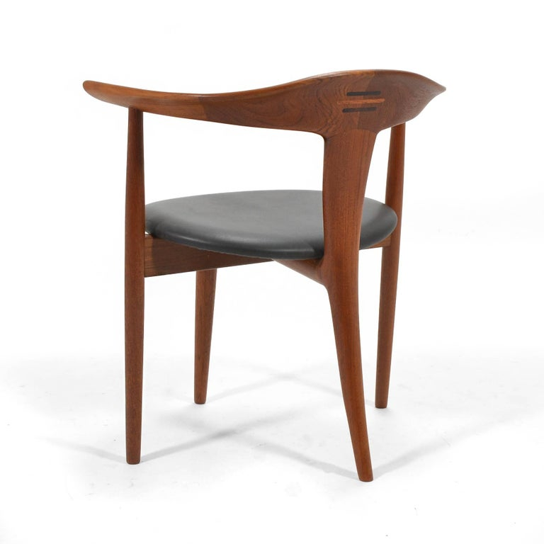 Erik Andersen and Palle Pedersen Pair of Rare Easy Chairs For Sale 2