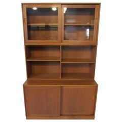 Erik Brouer Danish Teak Bookcase / Cabinet for Brouer Mobelfabrik