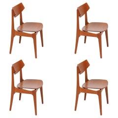 Erik Buch Dining Chairs for Funder-Schmidt & Madsen