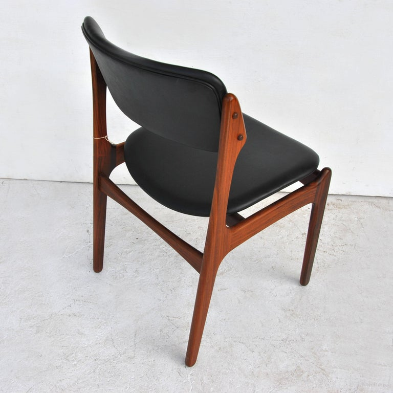 Erik Buch For O.D. Mobler Danish Rosewood Side Chair 1