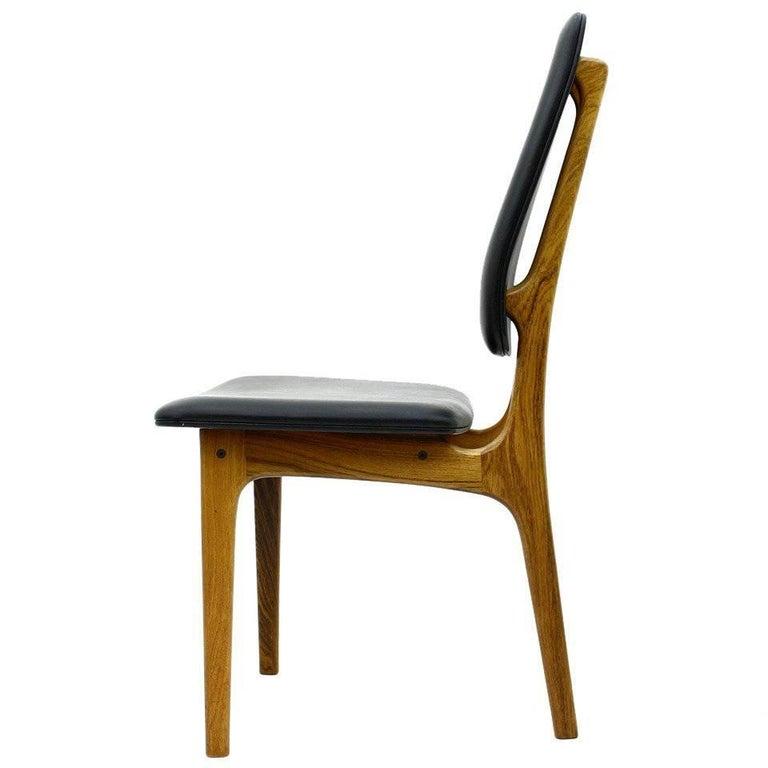 Erik Buch High Back Chair, Denmark, 1960s For Sale