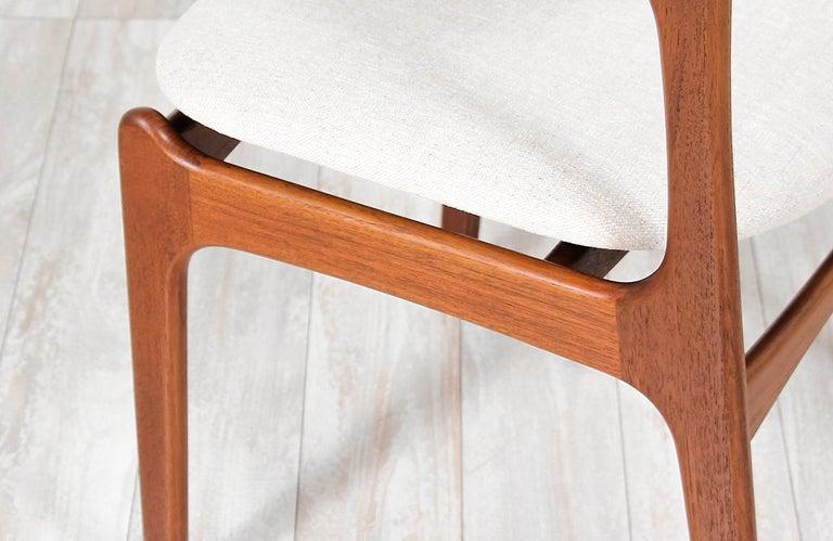 Erik Buch Model-49 Dining Chairs for Oddense Maskinsinedkeri For Sale 4