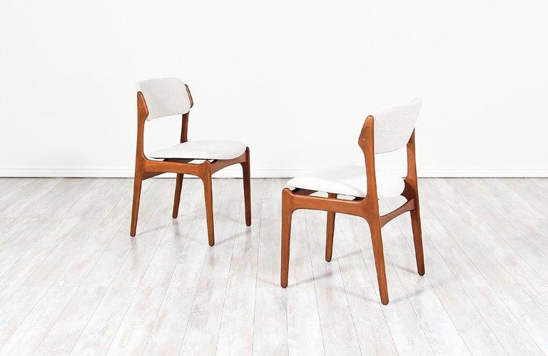 Danish Erik Buch Model-49 Dining Chairs for Oddense Maskinsinedkeri For Sale