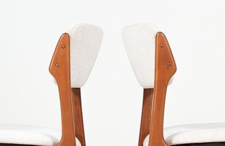 Erik Buch Model-49 Dining Chairs for Oddense Maskinsinedkeri For Sale 2