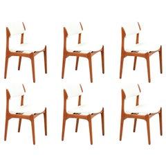 Erik Buch Model-49 Dining Chairs for Oddense Maskinsinedkeri