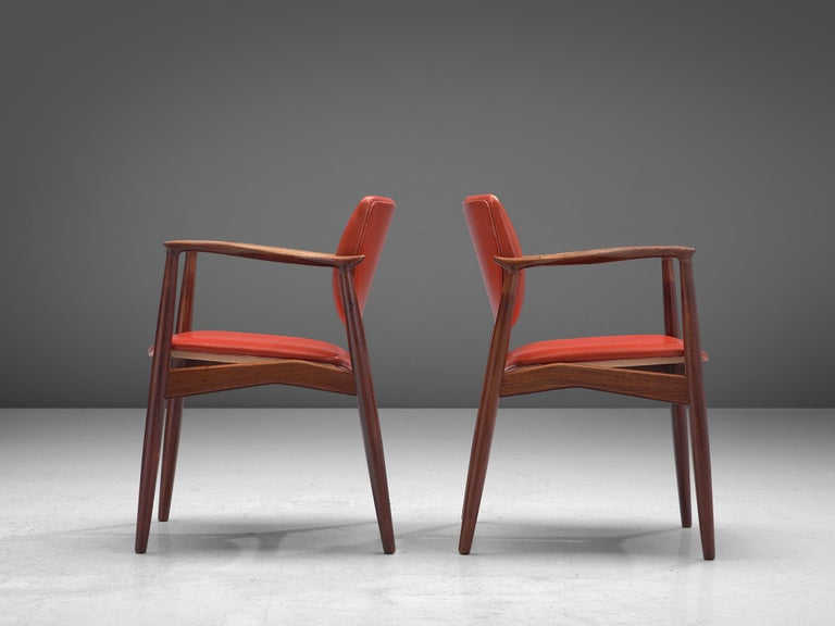 Erik Buch Set of Eight Rosewood Chairs For Sale 3