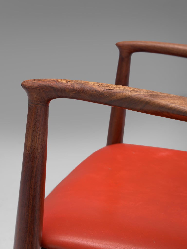 Erik Buch Set of Eight Rosewood Chairs For Sale 4