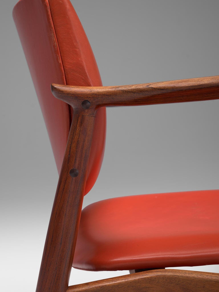 Erik Buch Set of Eight Rosewood Chairs For Sale 5