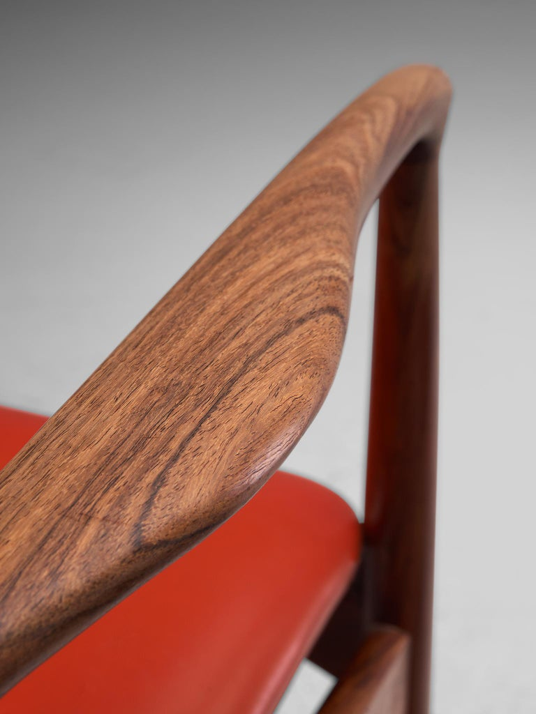 Erik Buch Set of Eight Rosewood Chairs For Sale 6