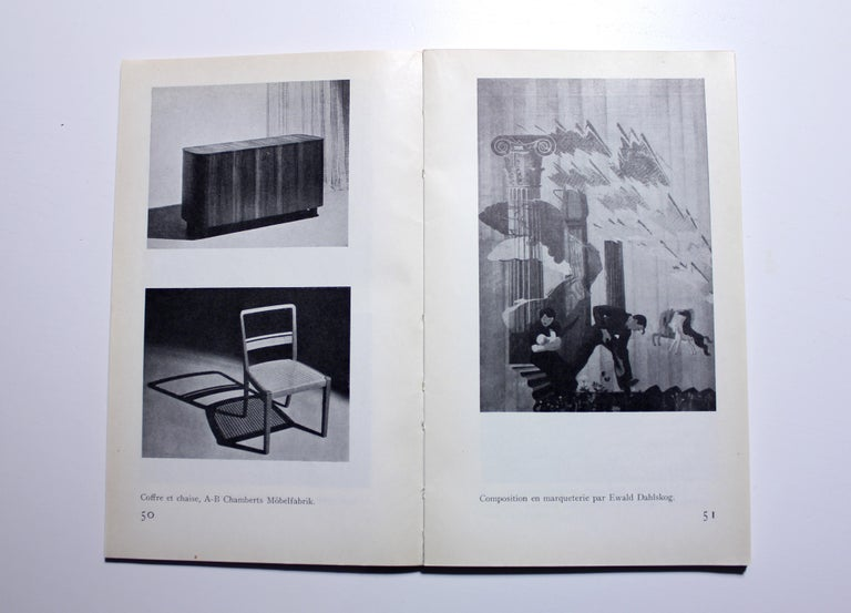 Erik Chambert, Very Rare Pair of Chairs, AB Chamberts Möbelfabrik, 1937 For Sale 9