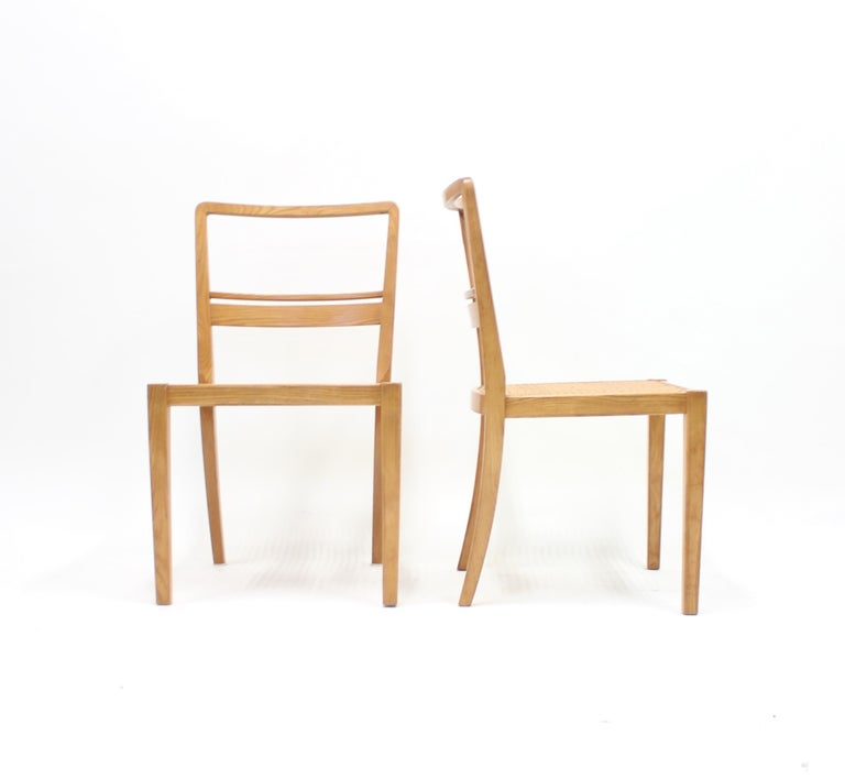 Swedish Erik Chambert, Very Rare Pair of Chairs, AB Chamberts Möbelfabrik, 1937 For Sale
