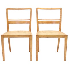 Erik Chambert, Very Rare Pair of Chairs, AB Chamberts Möbelfabrik, 1937