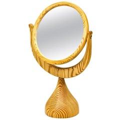 Erik Höglund Table Mirror in Pine by Boda Trä, Sweden