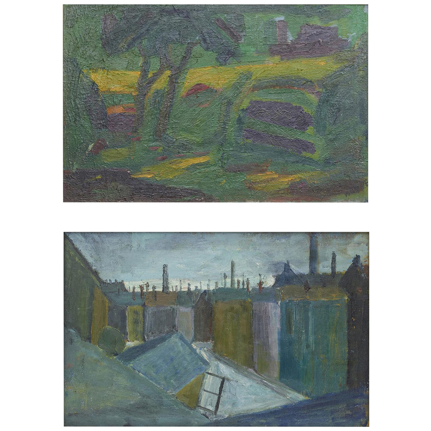 Erik Hoppe, Double-Sided Painting