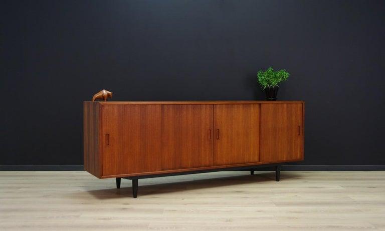 Mid-Century Modern Erik Jensen Sideboard Teak Danish Design For Sale