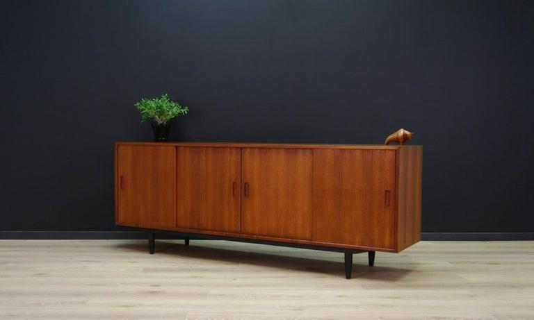 Scandinavian Erik Jensen Sideboard Teak Danish Design For Sale