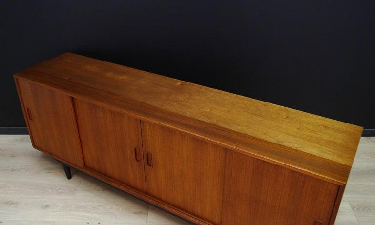 Veneer Erik Jensen Sideboard Teak Danish Design For Sale