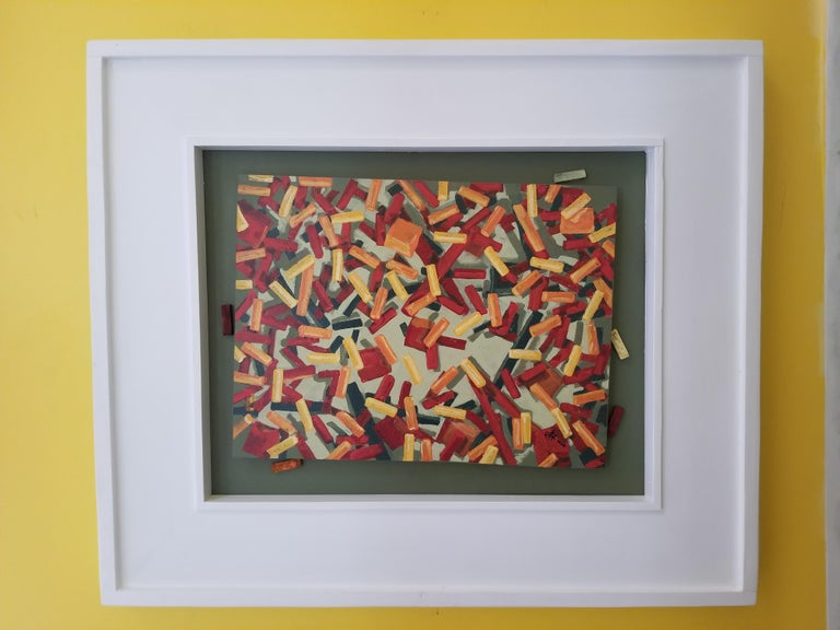 Cubes - Painting by Erik Johnsen
