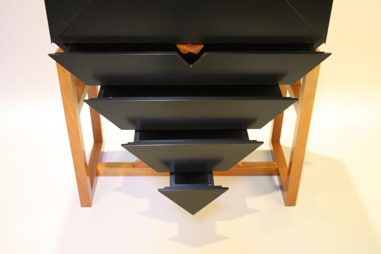 Erik Jørgensen Unique Sculptural Cabinet, 1982 For Sale 2