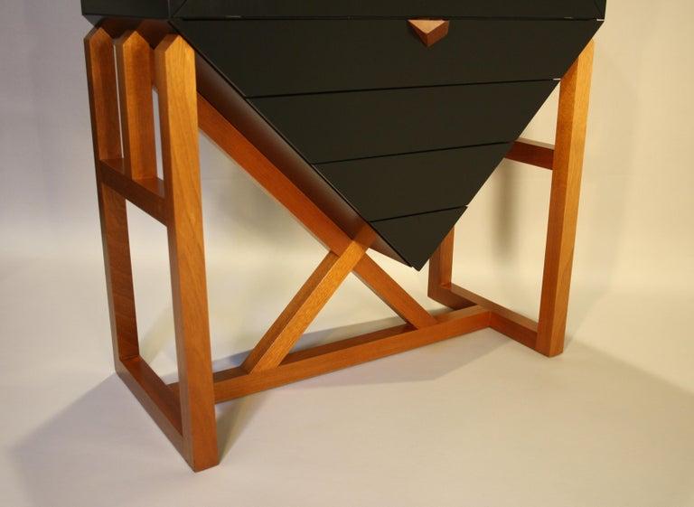 Erik Jørgensen Unique Sculptural Cabinet, 1982 For Sale 5
