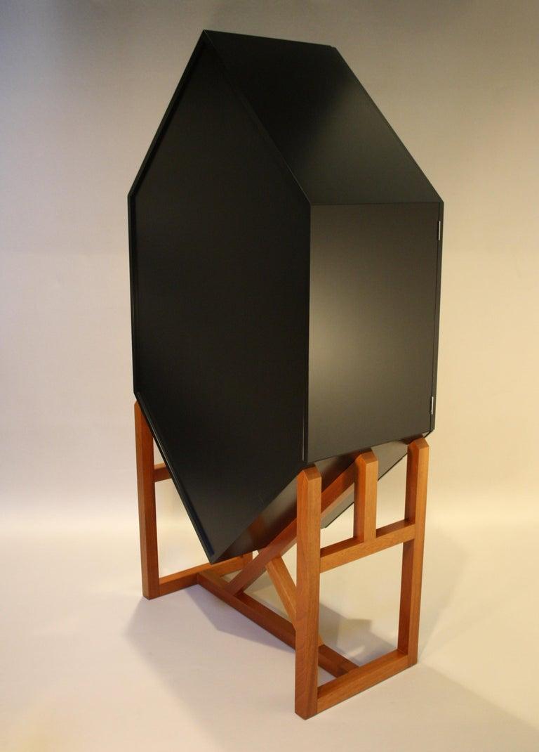 Erik Jørgensen Unique Sculptural Cabinet, 1982 For Sale 6