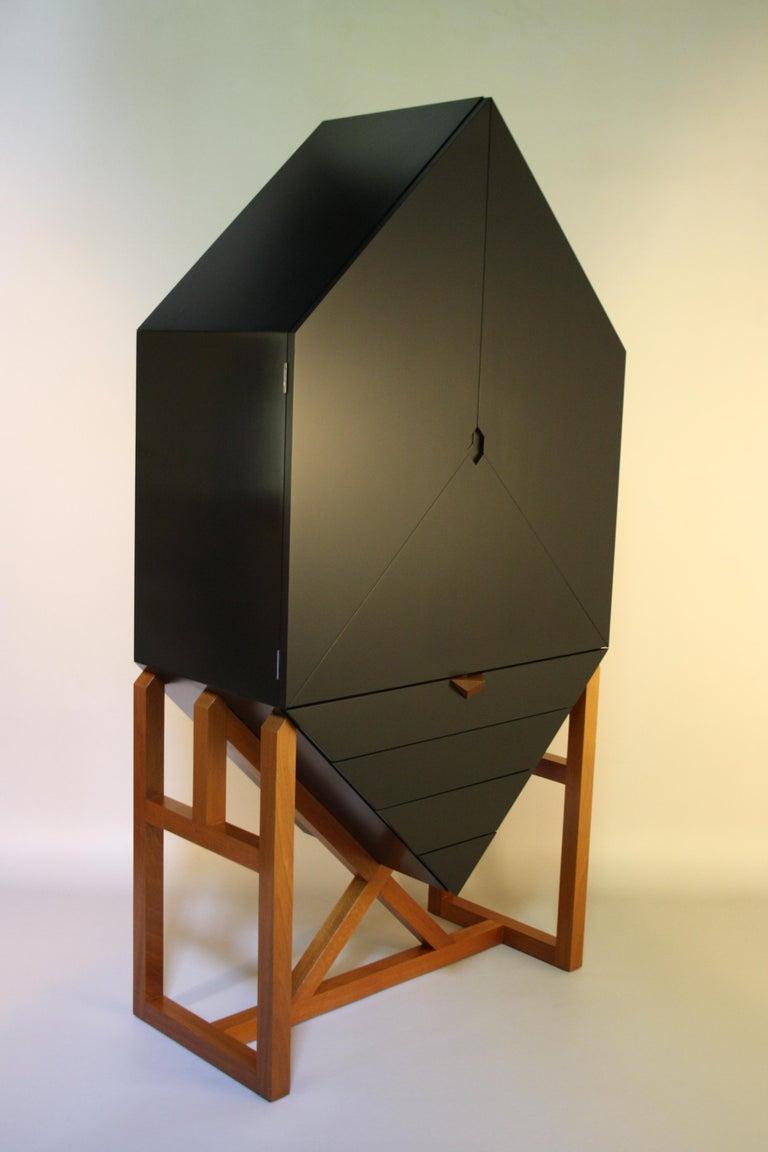 Erik Jørgensen Unique Sculptural Cabinet, 1982 For Sale 7