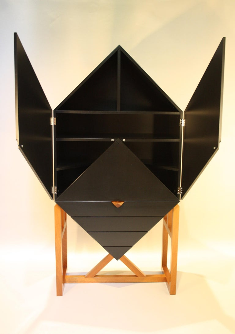 Erik Jørgensen Unique Sculptural Cabinet, 1982 In Good Condition For Sale In Belgium, BE