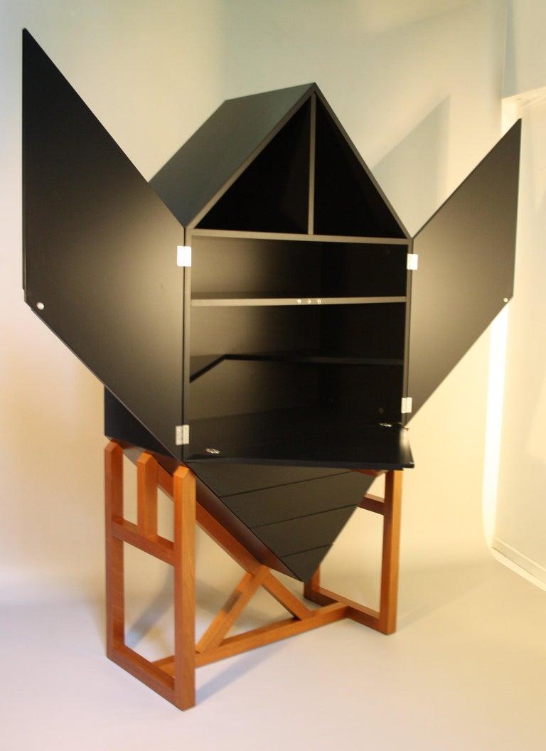 Late 20th Century Erik Jørgensen Unique Sculptural Cabinet, 1982 For Sale