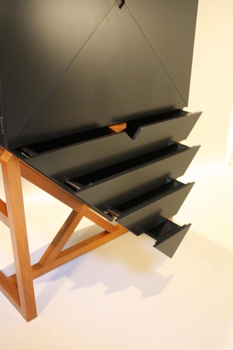Erik Jørgensen Unique Sculptural Cabinet, 1982 For Sale 1