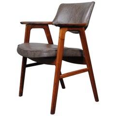 Erik Kirkegaard Leather Desk Chair