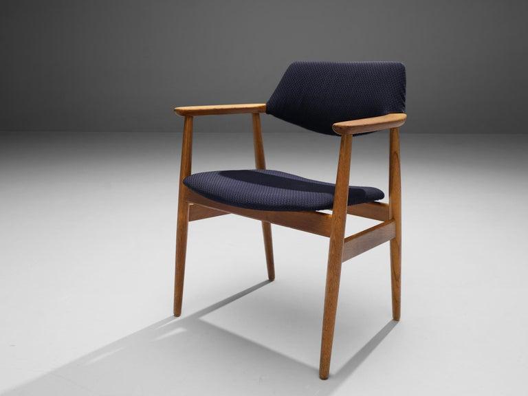 Erik Kirkegaard Set of Four Armchairs Model 53 in Teak For Sale 4