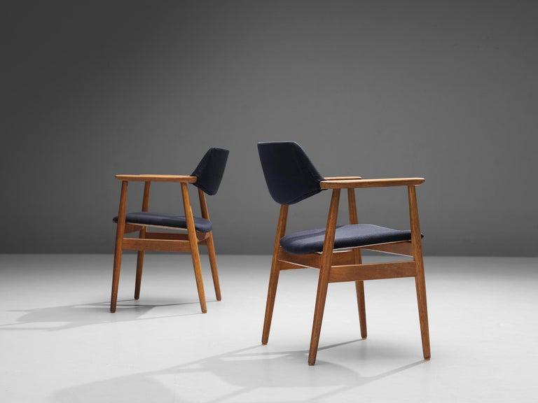 Erik Kirkegaard Set of Four Armchairs Model 53 in Teak For Sale 5