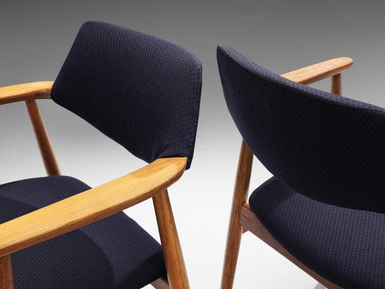 Erik Kirkegaard Set of Four Armchairs Model 53 in Teak In Good Condition For Sale In Waalwijk, NL