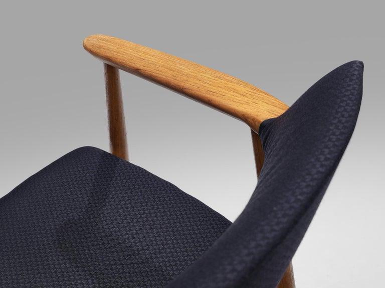 Erik Kirkegaard Set of Four Armchairs Model 53 in Teak For Sale 2
