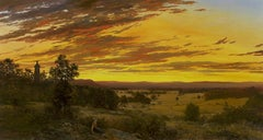 Sunset from Little Roundtop, Gettysburg