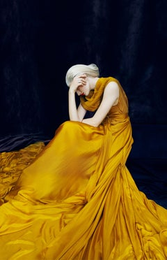 Gold, Sotheby's – Erik Madigan Heck, Fashion, Woman, Sotheby's, Gold, Dress, Art