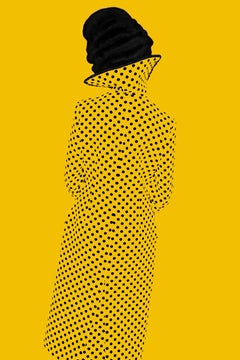 Without A Face (Yellow), Old Future – Erik Madigan Heck, Photography, Yellow