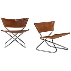 Erik Magnussen Z Easy Chairs Produced by Torben Ørskov in Denmark