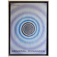 "Erik Nitsche ""Liquid Carbonic"" Poster for General Dynamics, circa 1960"