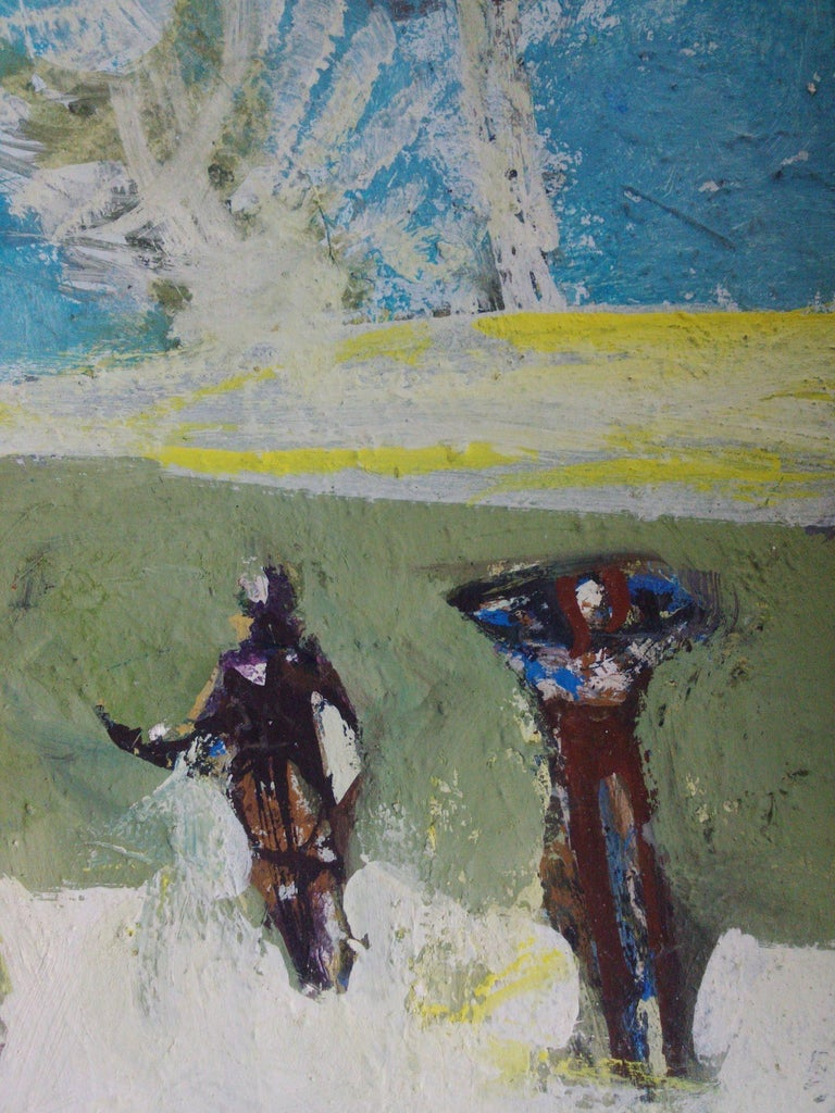 Figures in a landscape For Sale 1