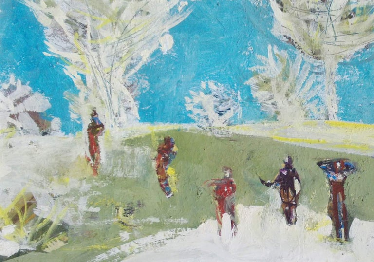 Figures in a landscape For Sale 2