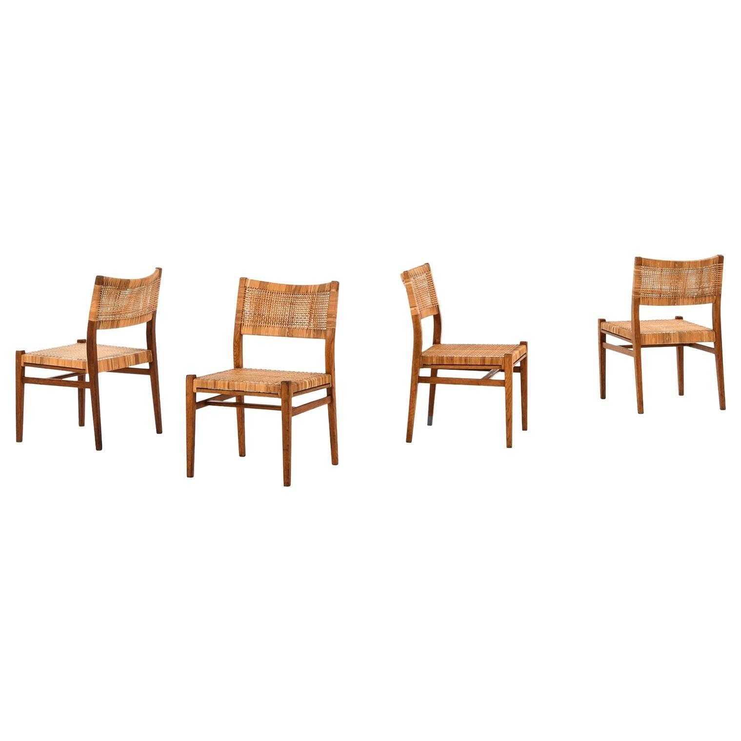 Erik Wørts Dining Chairs Produced in Denmark