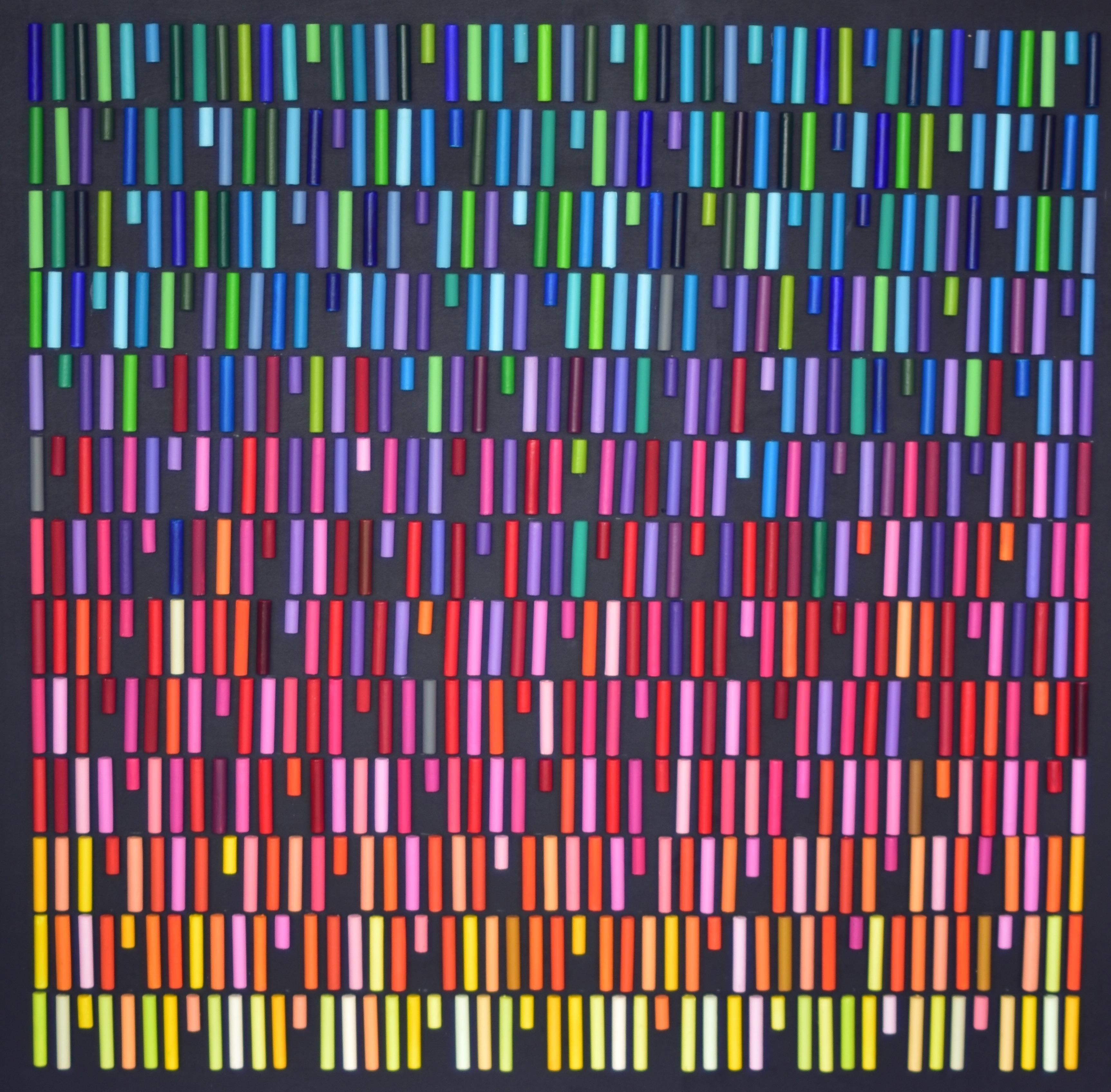 Allegro Barbaro Painting with Plastic Technique, Erika Baktay