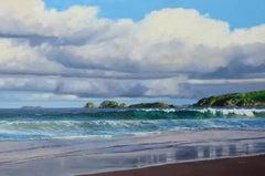 All is found Original ocean landscape painting Contemporary Art 21st Century