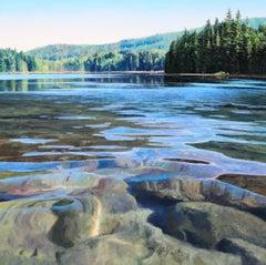 Come Find Me - landscape nature oil painting contemporary modern art 21st C