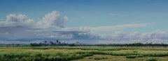 Let it Be - Africa nature landscape oil painting contemporary 21st C modern