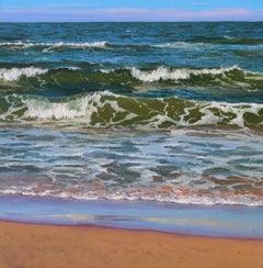 Sea Stories II - original landscape painting contemporary modern art