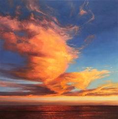Taken Away - sea landscape painting contemporary impressionism  modern art